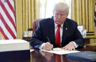 عاجل..ترامب يأمر بضم إسرائيل لنطاق القيادة المركزية الأمريكية فى المنطقة