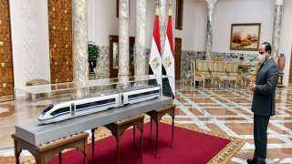سيمنز الألمانية تهدي الشعب المصري 5 قطارات سريعة