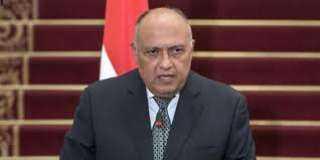 وزير الخارجية: مصر حريصة على تعزيز التعاون مع أشقائها الأفارقة