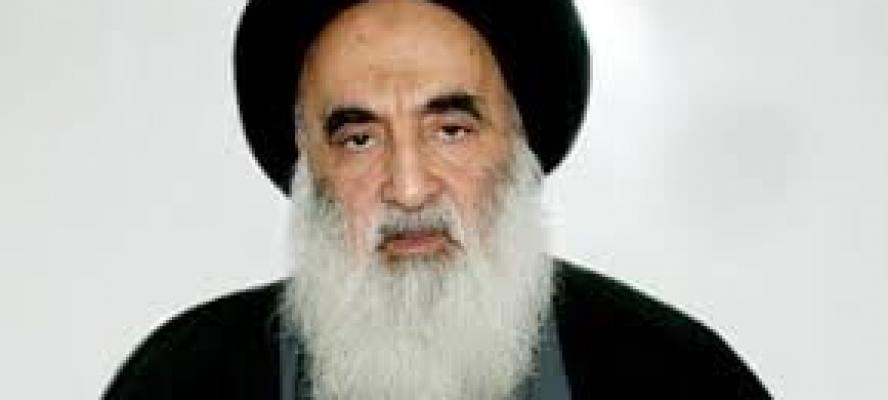 السيستاني للبابا فرنسيس: حريصون على أن يعيش مسيحيو العراق في سلام بكامل حقوقهم