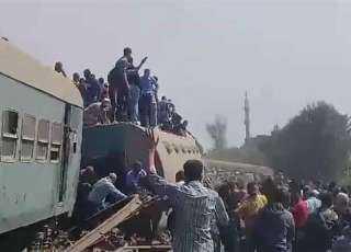 النائب العام يأمر بحبس ثلاثة وعشرين متهمًا في حادث قطار طوخ
