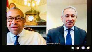 سفير مصر لدى المملكة المتحدة يبحث عدداً من الموضوعات ذات الاهتمام المشترك مع وزير الدولة البريطاني للشرق الأوسط وشمال أفريقيا