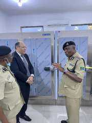 مصر تقدم مساعدات طبية لمستشفى الشرطة في دار السلام.