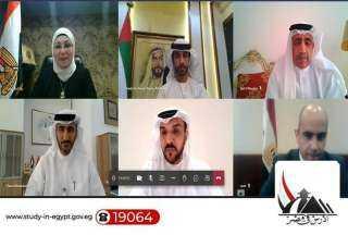 """عقد لقاء افتراضي بين """"التعليم العالي"""" والتربية والتعليم الإماراتية"""