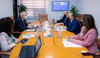 اقتصادية قناة السويس تستقبل سفير المملكة الأردنية لبحث مجالات التعاون بين البلدين