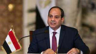 السيسي يؤكد موقف مصر الثابت لدعم التوصل إلى حل سياسي للأزمة اليمنية