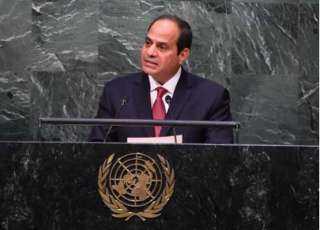 الليلة.. الرئيس السيسي يشارك في اجتماع رؤساء الدول والحكومات حول المناخ
