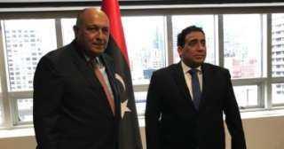 الوزير شكري يؤكد دعم مصر لكل الجهود الرامية لتحقيق تسوية شاملة في ليبيا
