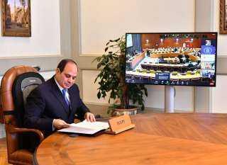 الرئيس السيسي يعلن عن تطلع مصر لاستضافة القمة العالمية لتغير المناخ في ۲۰۲۲